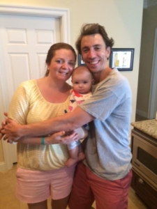 Jeff, Lisa & baby Taylor