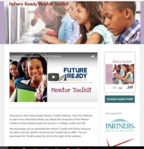 Future Ready Mentor Toolkit Homepage