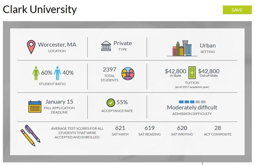 MEFA Pathway Clark University Page