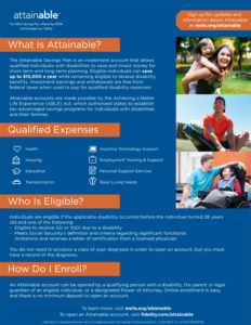 Attainable Flyer (English)