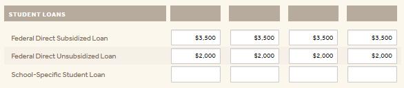 My College Cost Calculator 3
